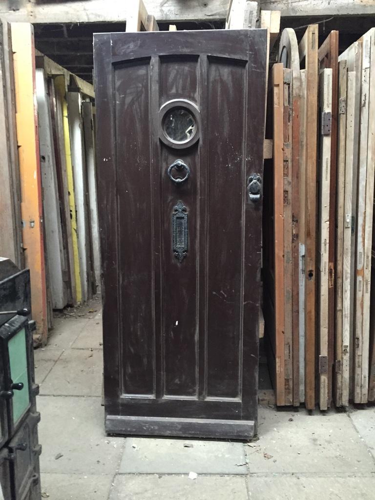 Reclaimed Reproduction External Pine Door